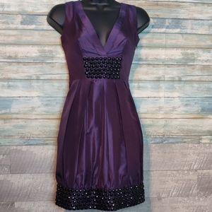 BEBE studded fancy dress